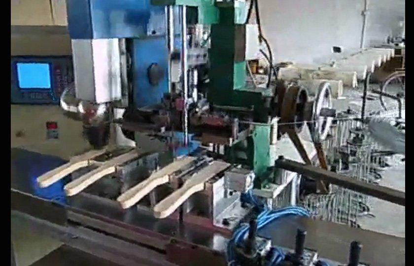 5 axis drilling & tufting machine--special for steel wire brush & model B