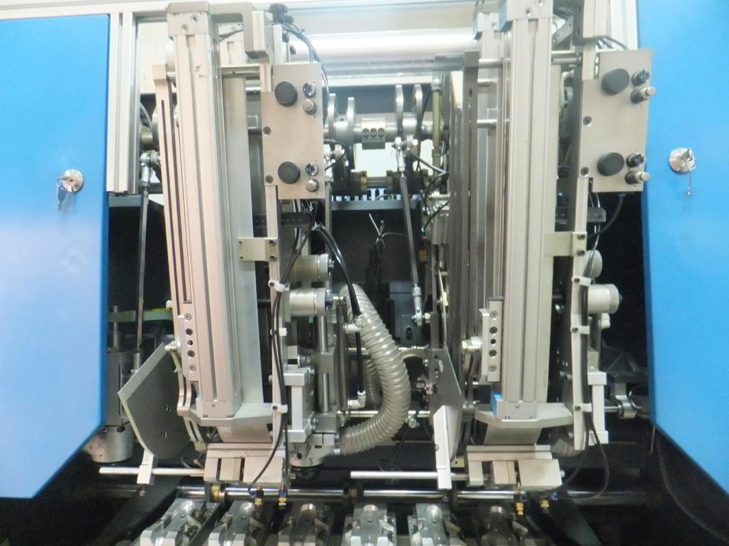 5 AXIS 5 HEAD BRUSH MACHINE