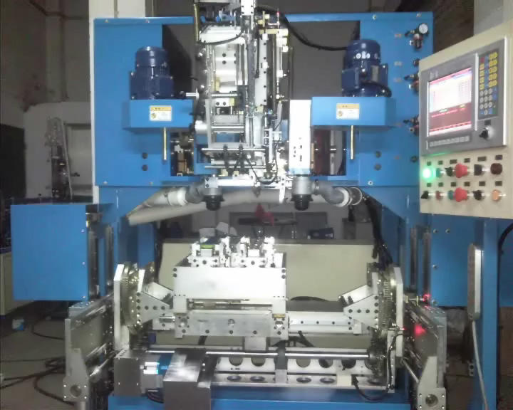 5 axis machine for broom